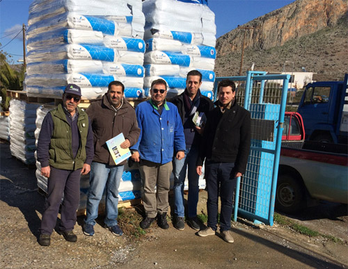 ELLAGROLIP supports the fire victim farmers in the region of Vatika